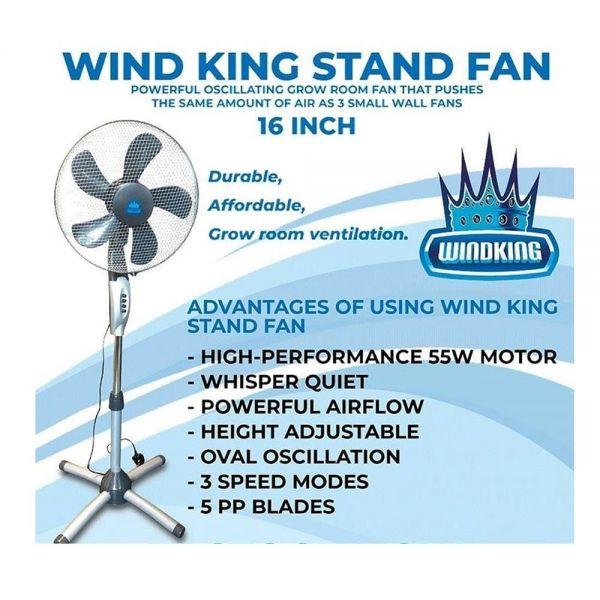 Wind king Stand Fan