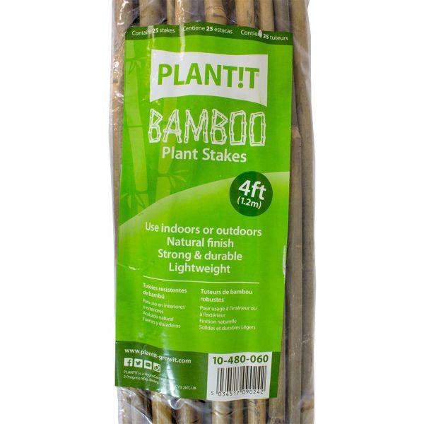 Bamboo Sticks 120cm x 25